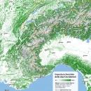 Copertura forestale delle Alpi Occidentali