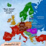 Buon natale nelle lingue europee